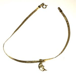 14k Love You to the Moon Bracelet